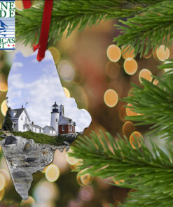 Lighthouse Ornament, Keychain, Magnet